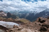 Mountain in North Caucasus — Stockfoto