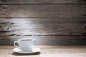 Sıcak kahve fincan — Stok fotoğraf
