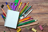 stationery objects — Stock Photo