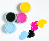 Cmyk color  — Stock Photo