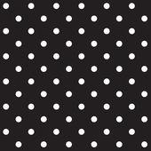 Seamless Polka dot background — Stock Vector