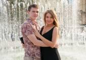 Casal jovem feliz — Foto Stock