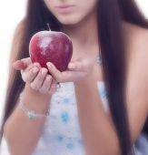 Manzana congelada — Foto de Stock