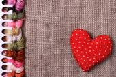 Background, cross-stitch — Stock Photo