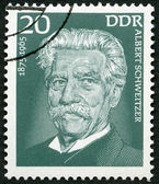GERMANY - 1975: shows Albert Schweitzer (1875-1965), medical missionary — Stock Photo