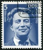 GERMANY - 1975: shows Hans Otto (1900-33), actor — Stock Photo
