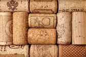Different wine corks — Stock Photo
