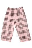 Baby girls trousers — Stock Photo
