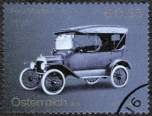 AUSTRIA - 2003: shows Ford Model T, Ford Motor Company century — Stock Photo