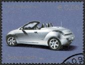 AUSTRIA - 2003: shows Ford Streetka, Ford Motor Company century — Stock Photo
