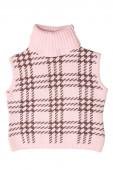 Children's wear - sleeveless pullover — Stock Photo