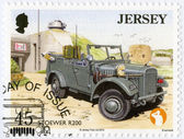 JERSEY - 2013: shows Stoewer R200, series Military Vehicles — Stock Photo