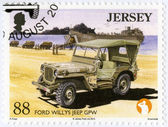 JERSEY - 2013: shows Ford Willys Jeep GPW, series Military Vehicles — Photo