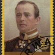 RWANDA - 2009: shows portrait of Captain Robert Falcon Scott (1868-1912) — Stockfoto #60464813