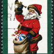 UNITED STATES OF AMERICA - 1972: shows Santa Claus, It was the Night before Christmas — Stock Photo #60648167
