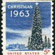 UNITED STATES OF AMERICA - 1963: shows National Christmas Tree and White House — Stock Photo #60648185
