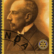 RWANDA - 2009: shows portrait of Roald Amundsen (1872-1928) — Stock Photo #62092555