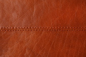 Natural brown leather background — Stock Photo