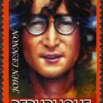 Постер, плакат: DJIBOUTI 2011: shows John Ono Lennon a singer