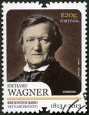 PORTUGAL - 2013: shows portrait of Richard Wagner (1813-1883), German composer — Stock Photo