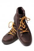 棕色皮靴 — 图库照片