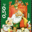 FINLAND - 2005: shows Santa Claus reading letters — Stock Photo #68168519