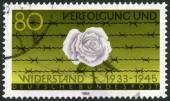 GERMANY - 1983: devoted Persecution and Resistance (1933-1945) — Stock Photo