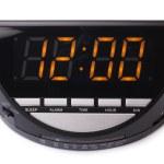 Digital electronic clock — Stock Photo #68405563