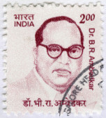 INDIA - 2011: shows Dr. Bhimrao Ramji Ambedkar Jayanti (1891-1956), lawyer and leader in social reform — Stock Photo