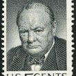 USA - 1965: shows Sir Winston Spencer Churchill (1874-1965), British statesman and WWII leader — Stock Photo #70210555