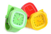 Relógios de pulso — Fotografia Stock