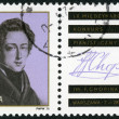 POLAND - 1975: shows Frederic Chopin (1810-1849), 9th International Chopin Piano Competition,Warsaw, Oct. 7-28 — Stock Photo #75181011