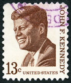 USA - 1965: shows John F. Kennedy (1917-1963), series Prominent Americans Issue — Stock Photo
