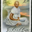 Постер, плакат: GIBRALTAR 2008: shows of Mohandas Karamchand Gandhi 1869 1948 series Europa letter writing