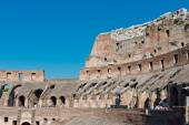 Inside of Colosseum in Rome, Italy  — Stock Photo