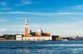The church and monastery at San Giorgio Maggiore — Stock Photo