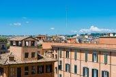 View of panorama Rome, Italy — Stock Photo
