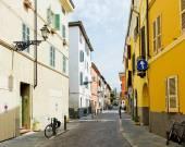 просмотр улиц в парме. италия — Стоковое фото