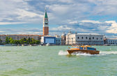 Sea view Piazza San Marco — Stock Photo