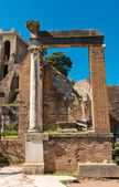Roman ruins in Rome, Forum — Stock Photo