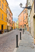 Street view in Parma. Italy — Stock Photo