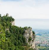 San Marino second tower: the Cesta or Fratta  — Stock Photo