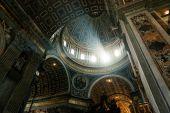 Inside the St. Peter Basilica, Vatican  — ストック写真