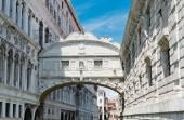 The Bridge of Sighs in Venice Italy — Stock Photo