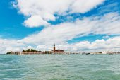 The church and monastery at San Giorgio Maggiore — Stock Photo