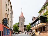 Straat van neurenberg — Stockfoto