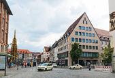 Ulice z Norimberku — Stock fotografie