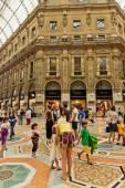 Shopping art gallery in Milan — Stock Photo