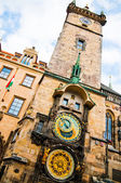 Astronomical Clock Prague — Stock Photo