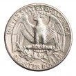 American one quarter coin — Stock Photo #55370245